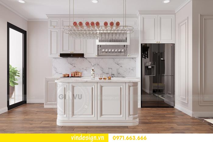 Thiết kế nội thất chung cư Vinhomes Dcapitale sang trọng lịch lãm 02