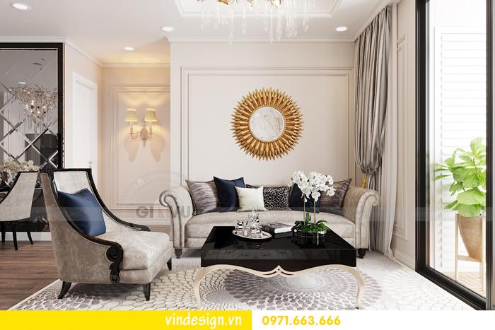 Thiết kế nội thất chung cư Vinhomes Dcapitale sang trọng lịch lãm 03