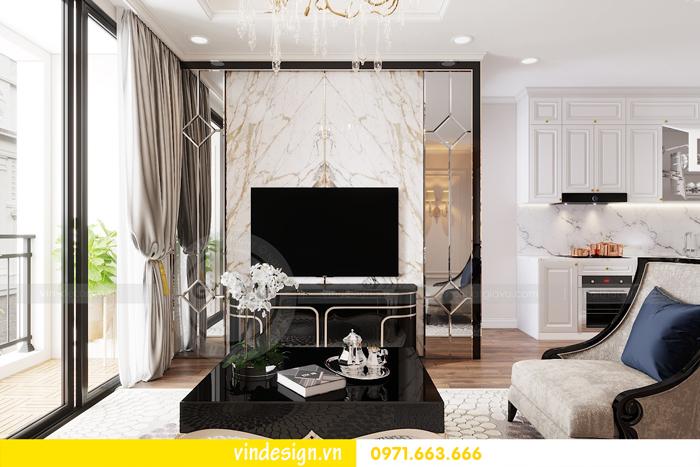 Thiết kế nội thất chung cư Vinhomes Dcapitale sang trọng lịch lãm 04