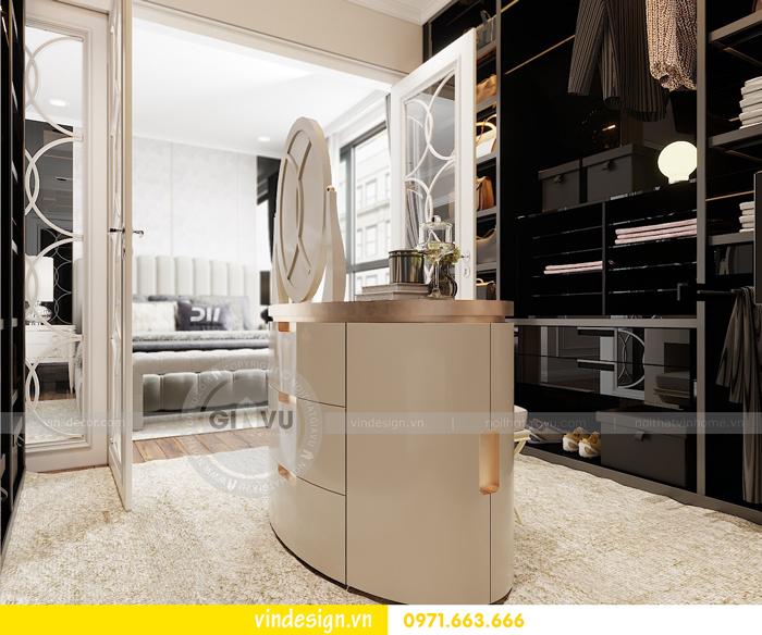 Thiết kế nội thất chung cư Vinhomes Dcapitale sang trọng lịch lãm 08