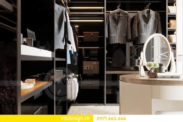 Thiết kế nội thất chung cư Vinhomes Dcapitale sang trọng lịch lãm 09