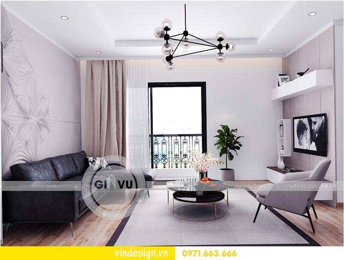 thiết kế nội thất chung cư Vinhomes Gardenia Mỹ Đình 01