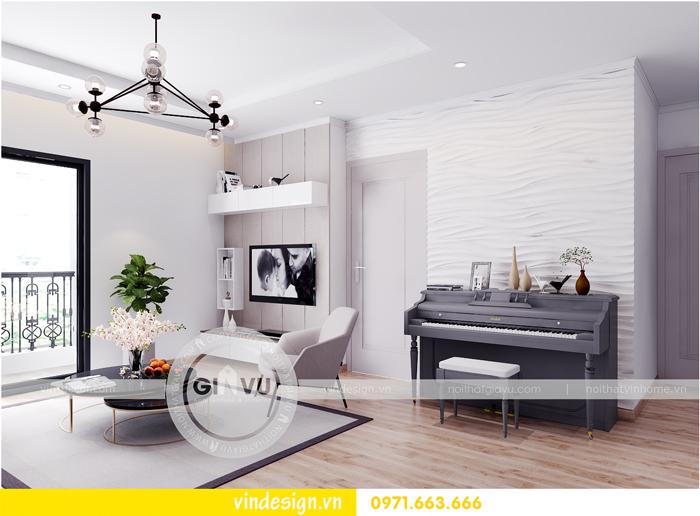 thiết kế nội thất chung cư Vinhomes Gardenia Mỹ Đình 03