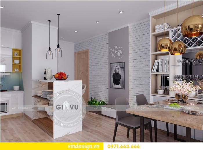 thiết kế nội thất chung cư Vinhomes Gardenia Mỹ Đình 04