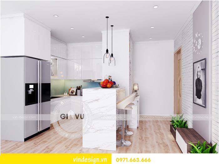thiết kế nội thất chung cư Vinhomes Gardenia Mỹ Đình 05