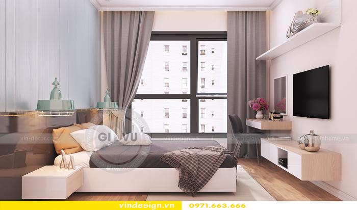 thiết kế nội thất chung cư Vinhomes Gardenia Mỹ Đình 06