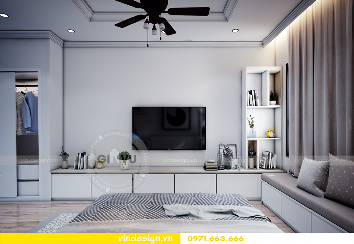 thiết kế nội thất chung cư Vinhomes Gardenia Mỹ Đình 10