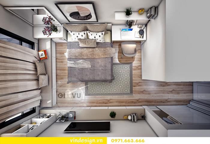 thiết kế nội thất chung cư Vinhomes Gardenia Mỹ Đình 11