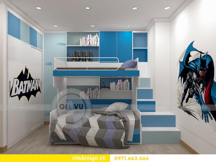 thiết kế nội thất chung cư Vinhomes Gardenia Mỹ Đình 13