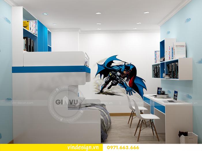 thiết kế nội thất chung cư Vinhomes Gardenia Mỹ Đình 15