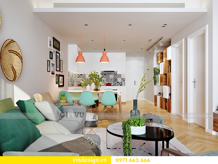thiết kế nội thất Gardenia tòa A3 call 0971 663 666 06
