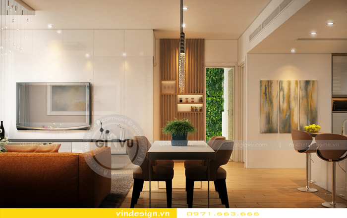 thiết kế nội thất gardenia tòa a1 03