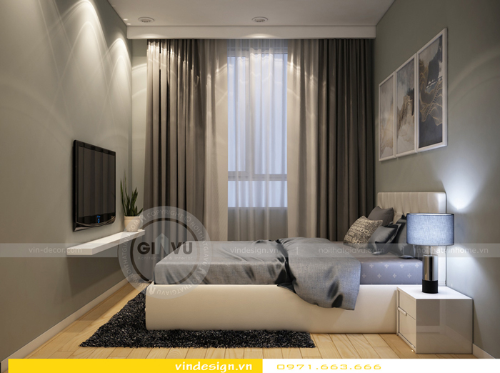 thiết kế nội thất gardenia tòa a1 10