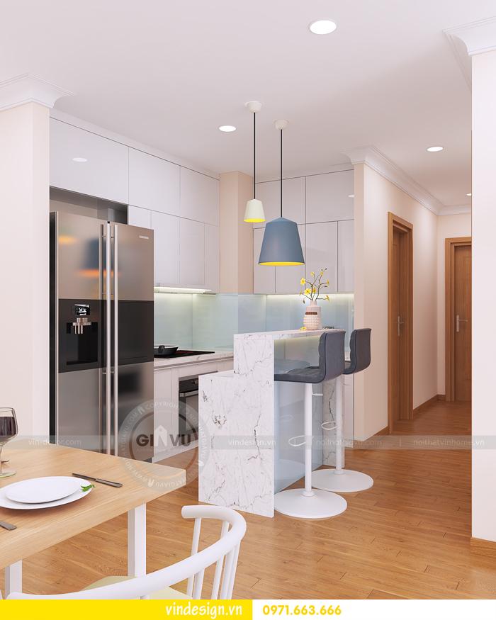 thiết kế nội thất tòa c1 căn 2 phòng ngủ dự án vinhomes d capitale 02