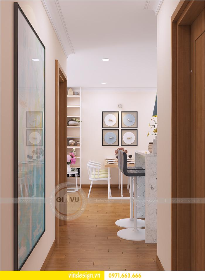 thiết kế nội thất tòa c1 căn 2 phòng ngủ dự án vinhomes d capitale 03