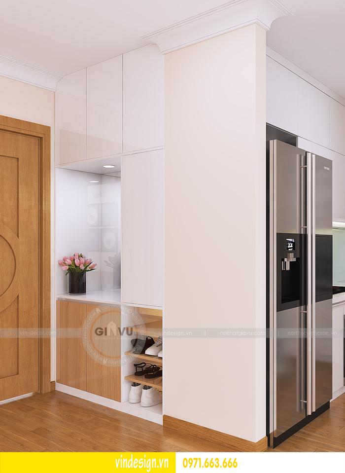 thiết kế nội thất tòa c1 căn 2 phòng ngủ dự án vinhomes d capitale 05