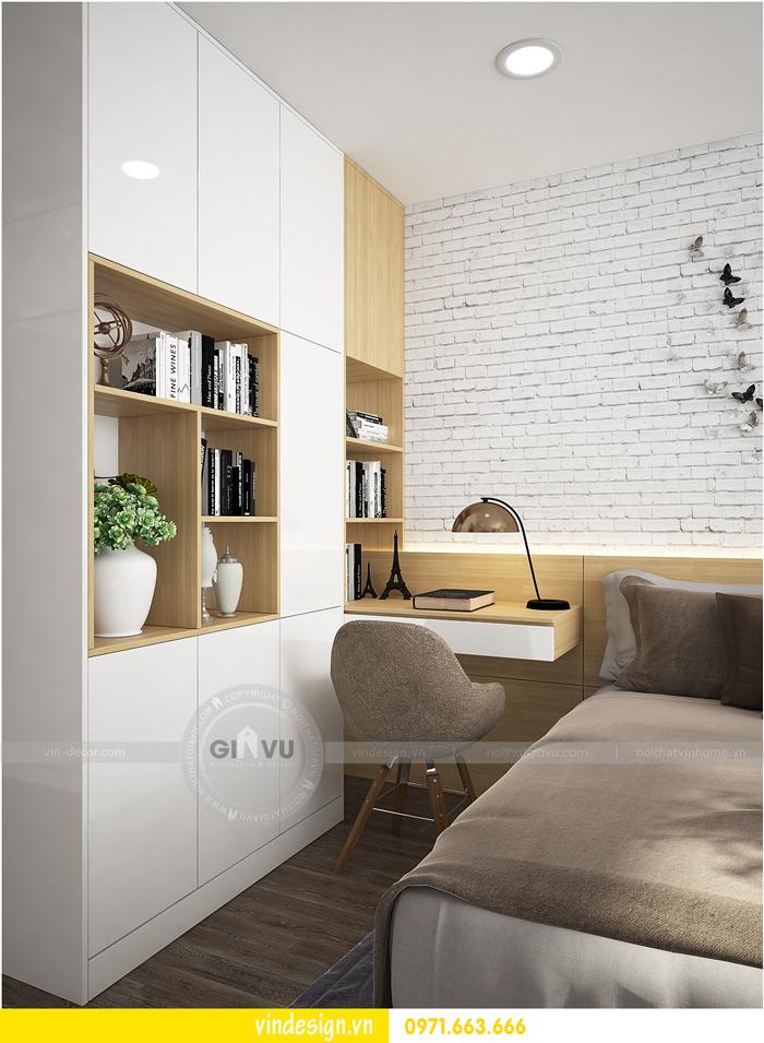 thiết kế nội thất tòa c1 căn 2 phòng ngủ dự án vinhomes d capitale 08