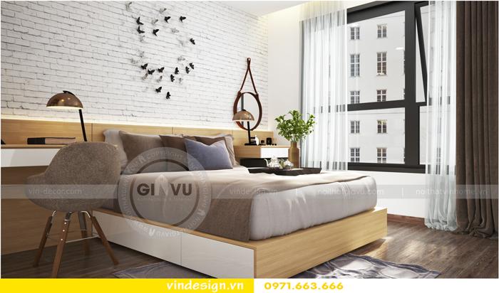 thiết kế nội thất tòa c1 căn 2 phòng ngủ dự án vinhomes d capitale 09