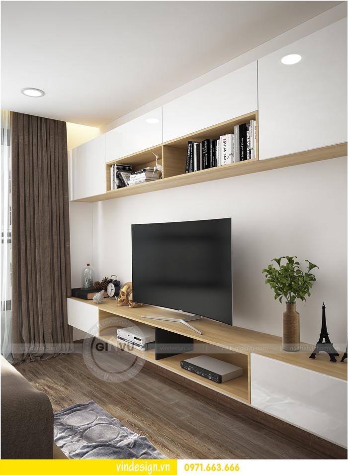 thiết kế nội thất tòa c1 căn 2 phòng ngủ dự án vinhomes d capitale 10