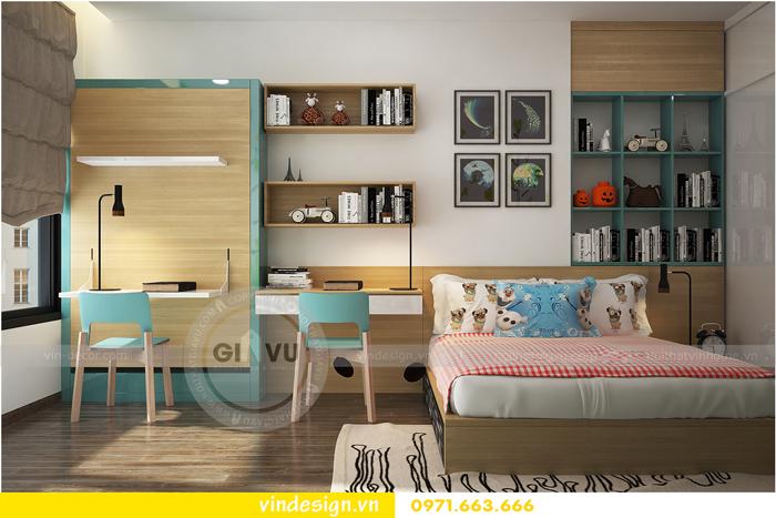 thiết kế nội thất tòa c1 căn 2 phòng ngủ dự án vinhomes d capitale 11