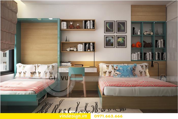 thiết kế nội thất tòa c1 căn 2 phòng ngủ dự án vinhomes d capitale 13