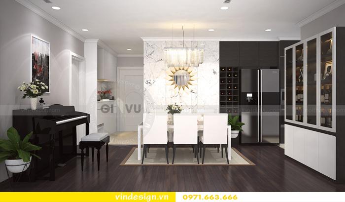 thiết kế nội thất vinhomes Gardenia Cầu Diễn 01