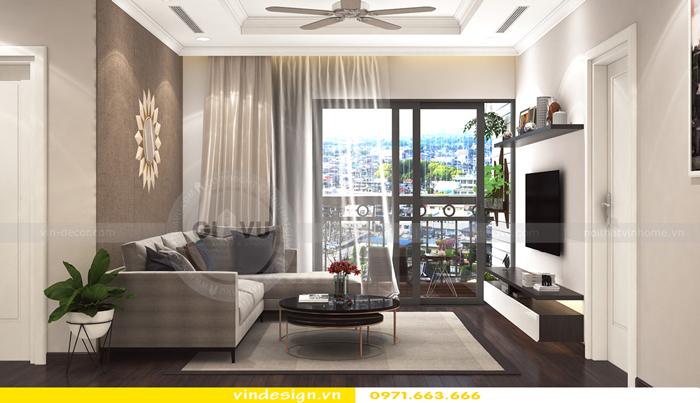 thiết kế nội thất vinhomes Gardenia Cầu Diễn 02