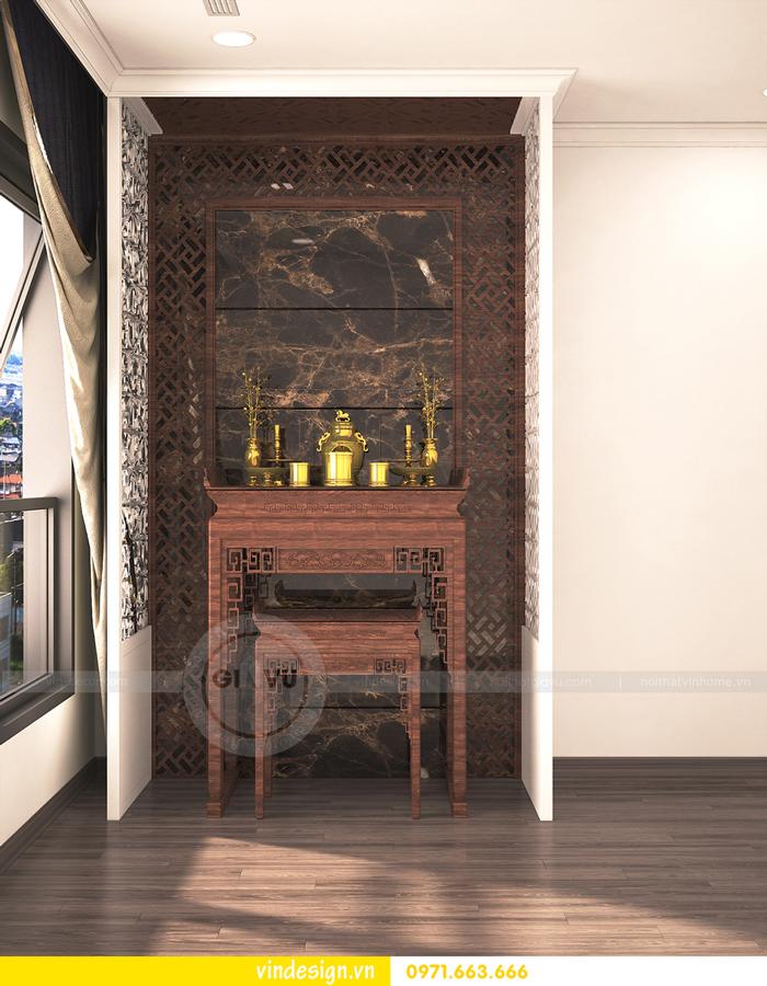 thiết kế nội thất vinhomes Gardenia Cầu Diễn 09