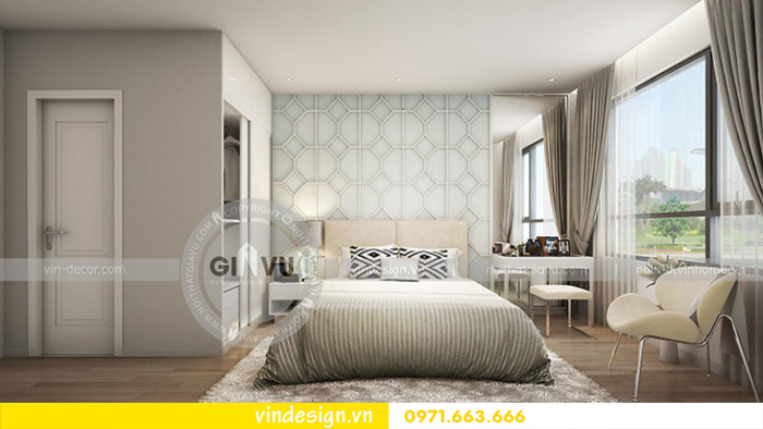 thiết kế phòng ngủ đẹp vinhomes d capitale 07