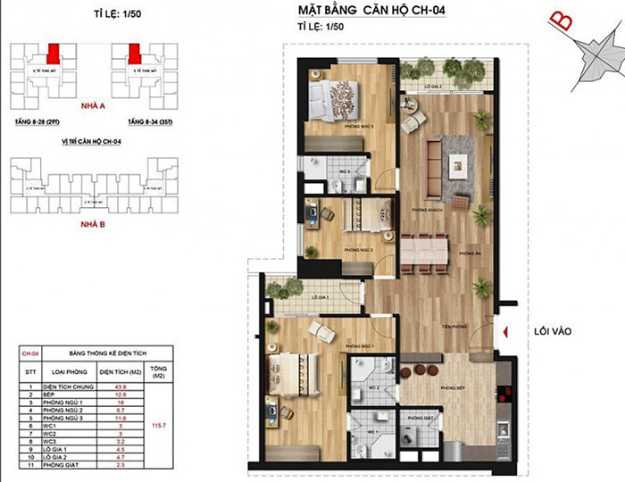 thiết kế nội thất chung cư imperia garden 01
