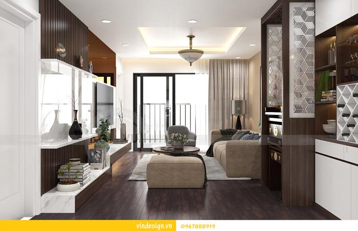 thiết kế nội thất chung cư imperia garden 05