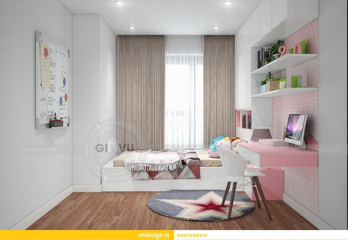 thiết kế nội thất chung cư imperia garden 12