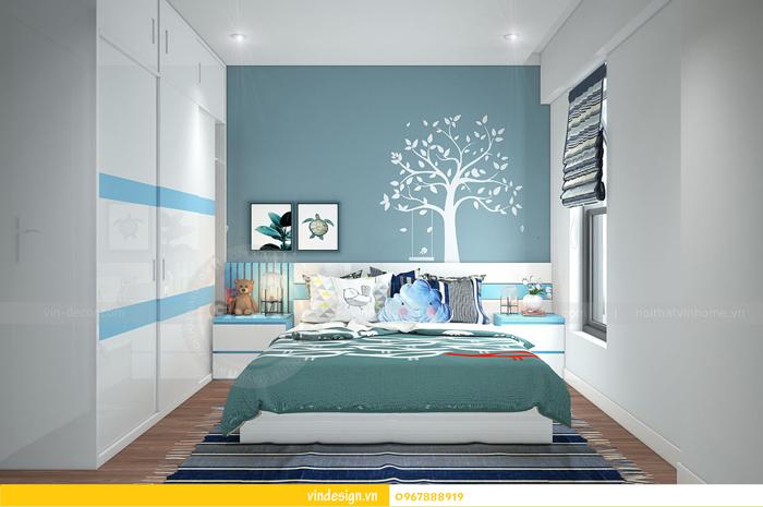 thiết kế nội thất chung cư imperia garden 14