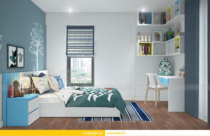 thiết kế nội thất chung cư imperia garden 15