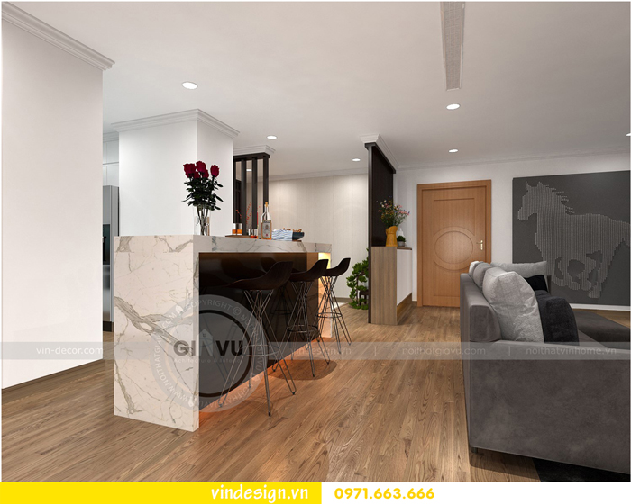 thiết kế nội thất park hill premium nhà anh tường park 10 07