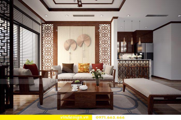 Thiết kế căn hộ chung cư Park Hill theo phong cách Á Đông 02
