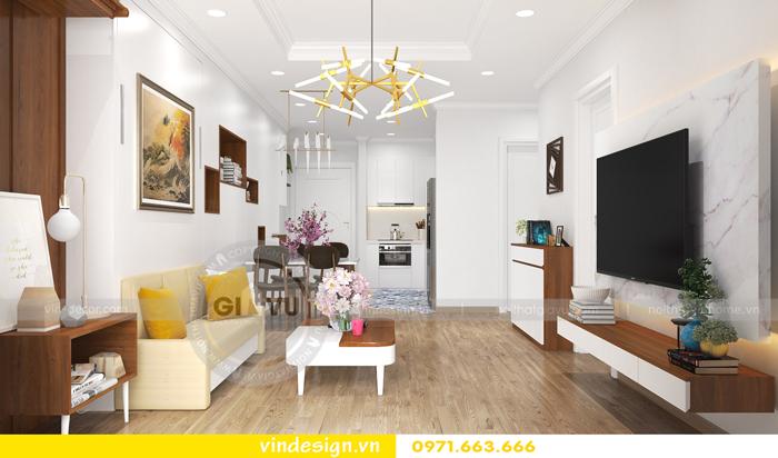 Thiết kế căn hộ Park Hill nhà chị Tuyền 05