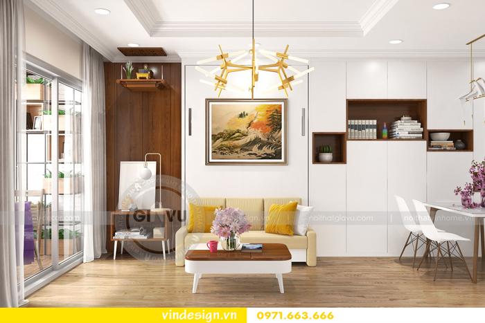 Thiết kế căn hộ Park Hill nhà chị Tuyền 06