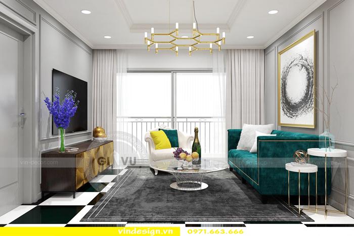Thiết kế nội thất park 9 căn 16 park hill times city 01