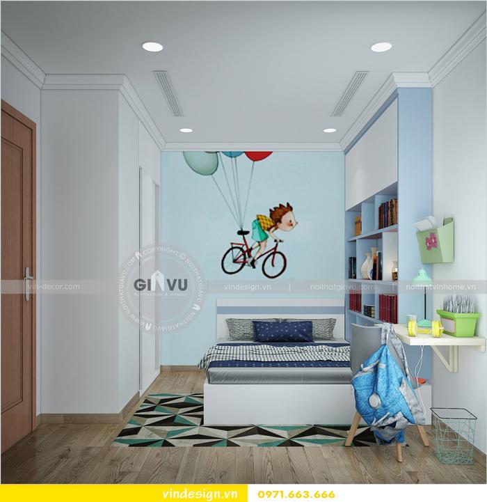 Thiết kế nội thất Park Hill 9 căn 06 nhà chị Thảo 08