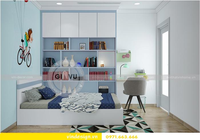 Thiết kế nội thất Park Hill 9 căn 06 nhà chị Thảo 09