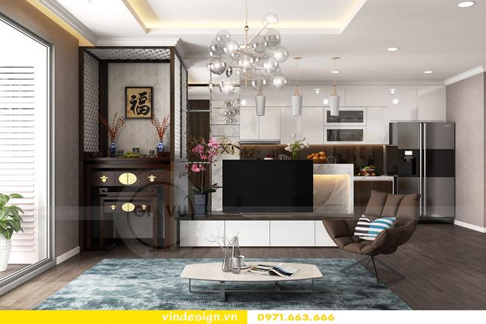 Thiết kế thi công nội thất Park Hill 11 căn 3 phòng ngủ đẹp 02