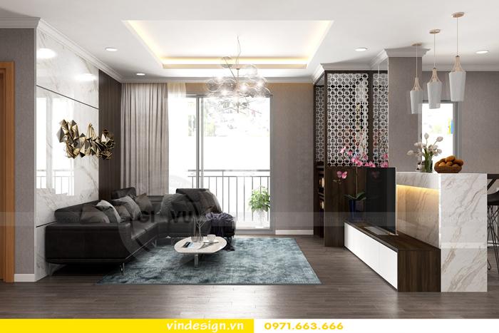 Thiết kế thi công nội thất Park Hill 11 căn 3 phòng ngủ đẹp 03