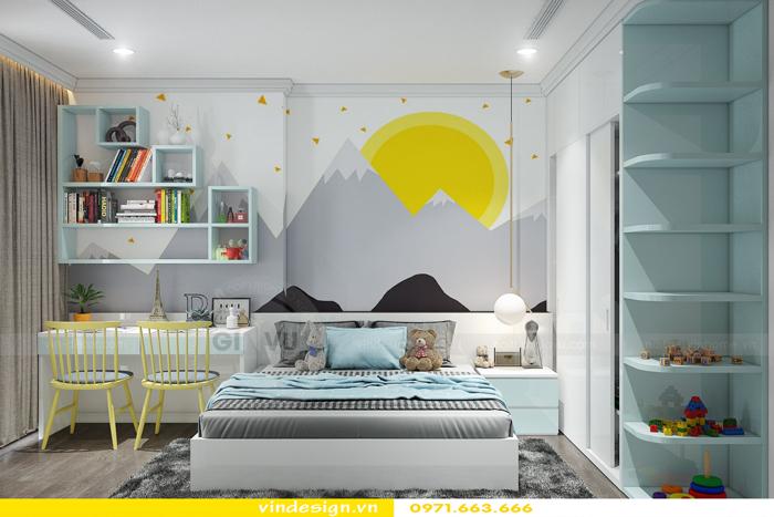 Thiết kế thi công nội thất Park Hill 11 căn 3 phòng ngủ đẹp 12