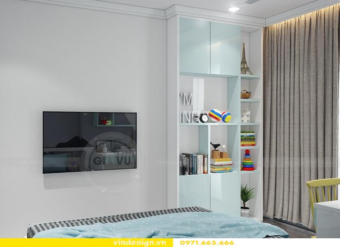 Thiết kế thi công nội thất Park Hill 11 căn 3 phòng ngủ đẹp 13