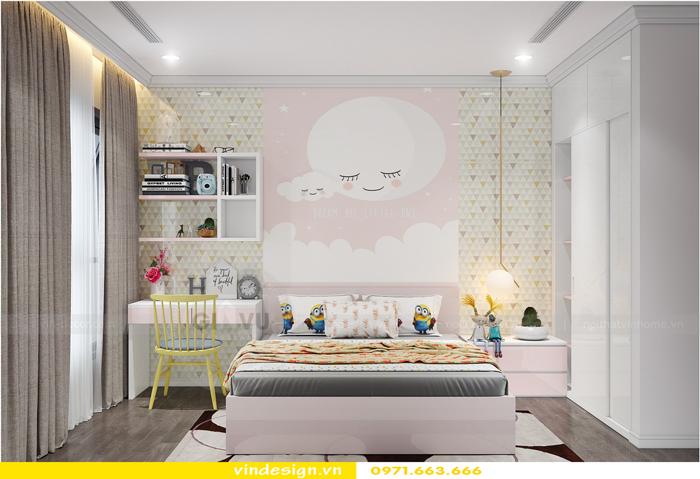 Thiết kế thi công nội thất Park Hill 11 căn 3 phòng ngủ đẹp 15