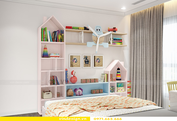 Thiết kế thi công nội thất Park Hill 11 căn 3 phòng ngủ đẹp 16