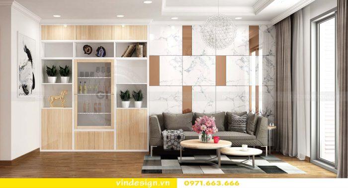 Thiết kế nội thất căn 01 tòa A1 chung cư gardenia 02