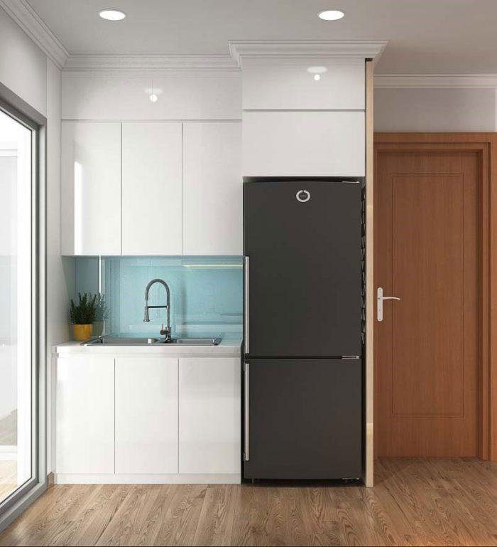 Thiết kế nội thất căn 01 tòa A1 chung cư gardenia 05