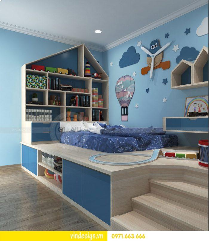 Thiết kế nội thất căn 01 tòa A1 chung cư gardenia 09